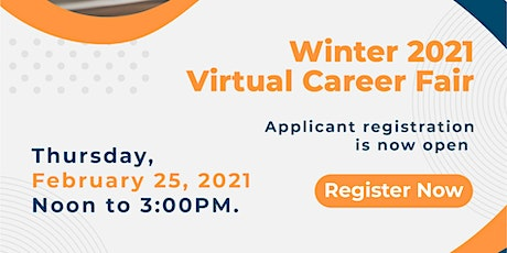 Virtual Winter Career Fair February 25th, 2021 tickets