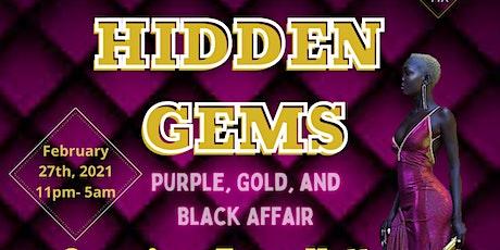 HIDDEN GEMS: Purple and Black Affair tickets
