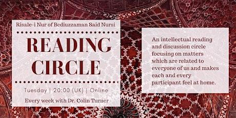 Engage with the essences of Islam through reading Risalei Nur (Said Nursi) tickets