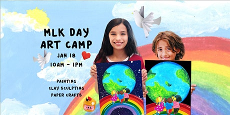 MLK Day Art Camp  |  January 18th |  10AM - 1PM   (Ages 5+) tickets