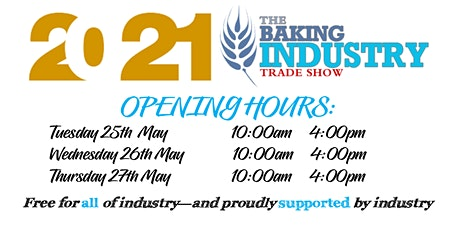 2021 Baking Industry Trade Show - Sydney tickets
