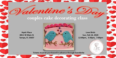 Valentine's Day Couples Cake Decorating Class tickets