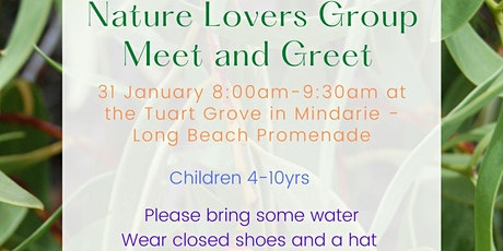 Nature Lovers Group - Meet and Greet tickets