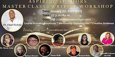 Aspiring Authors Master Class & Writers Workshop tickets