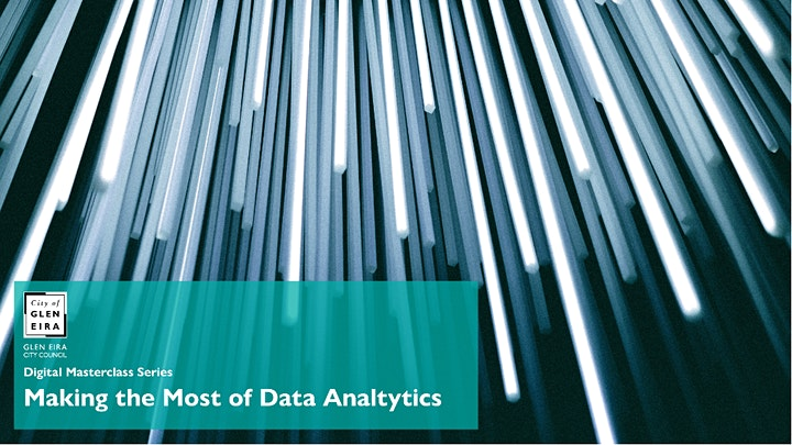 Digital Masterclass Series: Making the Most of Data Analytics image