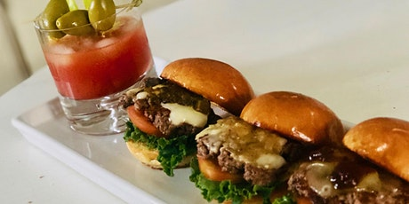 Virtual Cooking Class: Sliders Three Ways & Bloody Marys tickets