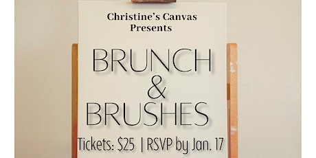Brunch & Brushes tickets