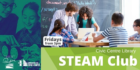 STEAM Club:  Term 1- Fridays tickets