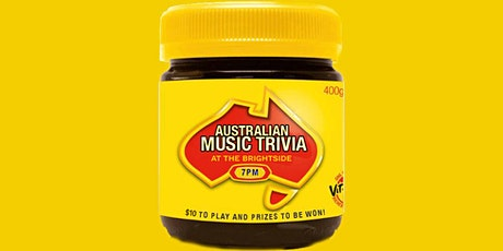 Australian Music Trivia tickets