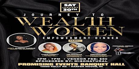 Journey To Wealth Women Empowerment Dinner tickets