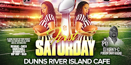 """""""1ST SATURDAY"""" @DUNNS RIVER ISLAND CAFE- TAMPA,FLORIDA tickets"""