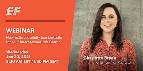 How to Successfully Use LinkedIn For Your International Job Search tickets