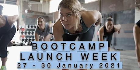Bootcamp Launch Week tickets