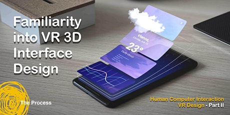 Familiarity into 3D Interface Design tickets