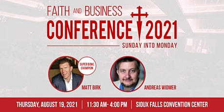 2021 Faith and Business Conference tickets