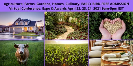Agriculture, Farms, Homes and Gardens Virtual Conference tickets