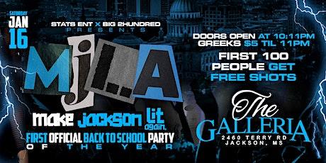 Make Jackson Lit Again  tickets