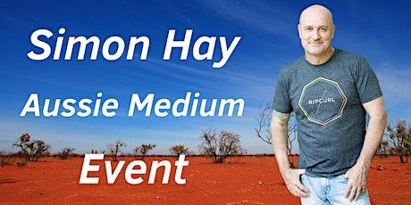 Aussie Medium, Simon Hay at the Nyngan RSL and Civic Club tickets
