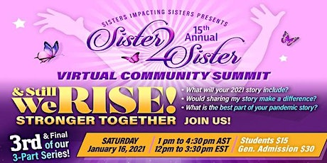 S2S Stronger Together Virtual Community Summit tickets