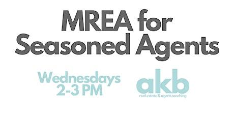 MREA for Seasoned Agents tickets