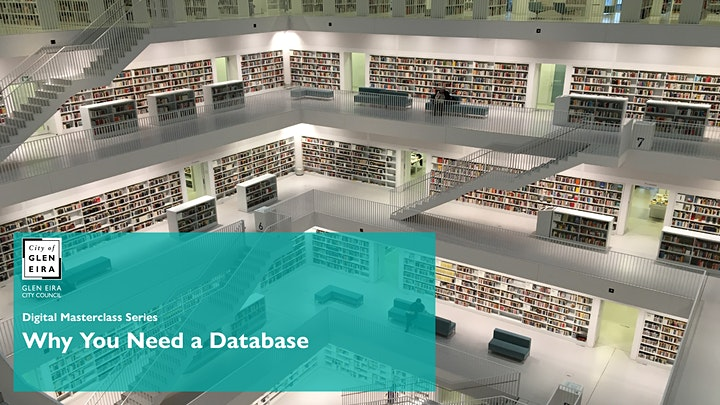Digital Masterclass Series: Why You Need a Database image