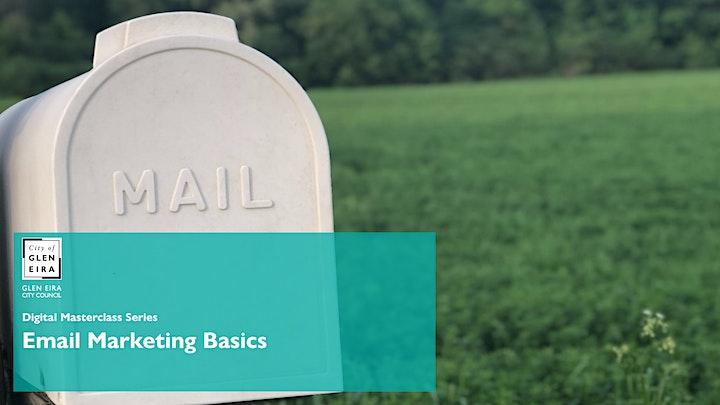 Digital Masterclass Series: Email Marketing Basics image