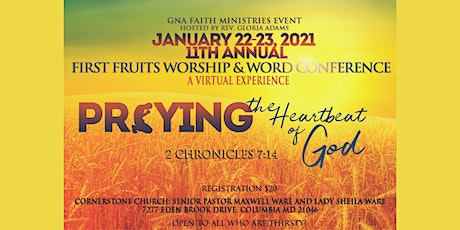 2021 First Fruits Worship & Word Conference tickets