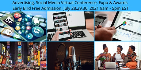 Advertising, Social Media and Marketing Virtual Conference Tickets