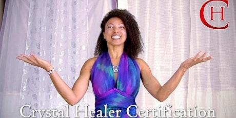 Crystal Healer MASTER Certification ONLINE Program + LIVESTREAM Session tickets