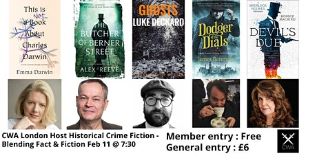 Blending Fact and Fiction - A Panel Discussion on Historical Crime Fiction tickets