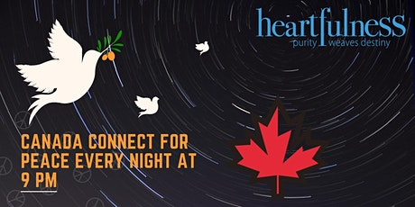 Peace Meditation every night at 9:00 PM EST - Free tickets