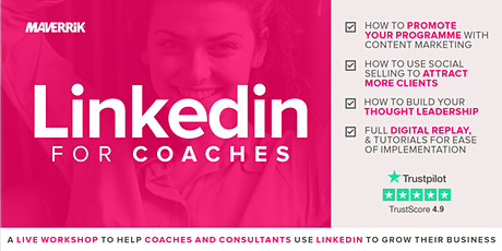 LinkedIn for Coaches tickets