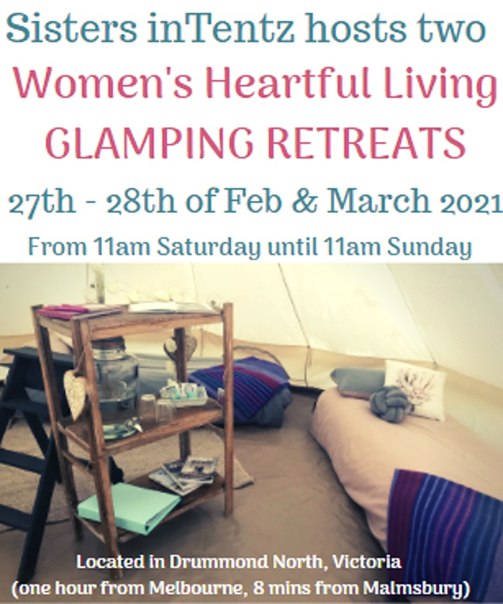 Heartful Living Glamping Retreat - March 2021 image
