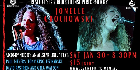 Jonelle Grochowski - Albany Blues License - LIVE at Six Degrees tickets
