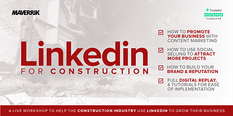 LinkedIn for Construction tickets