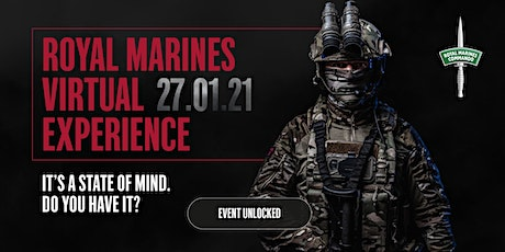 Royal Marines Virtual Experience tickets