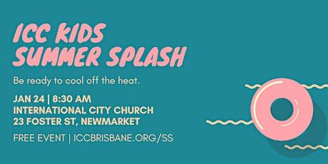 ICC Kids Summer Splash 2021 tickets