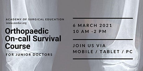 Orthopaedic On-call Survival Course tickets