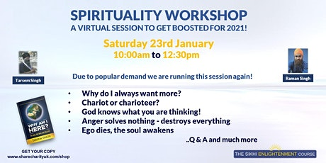 Sikhi Enlightenment Workshop - Why Am I Here? tickets