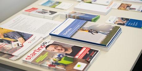 Online-Seminar für Existenzgründer Tickets