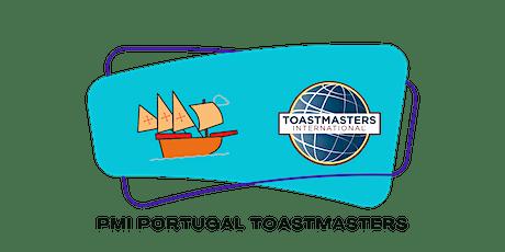 PMI Portugal Toastmasters | Sessão online gratuita | Desmistifica o mito! ingressos