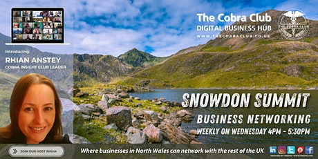 Snowdon Summit, Business Networking Event,  Deeside, North Wales tickets
