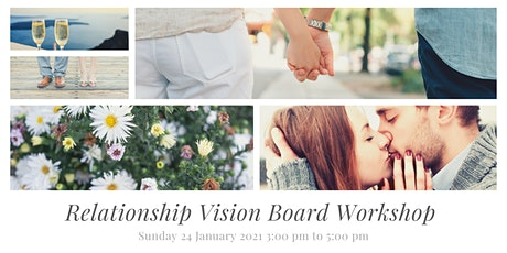 Virtual Relationship Vision Board Workshop tickets