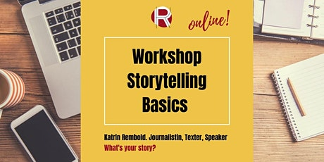 Online Storytelling - Basics für Social Media Tickets