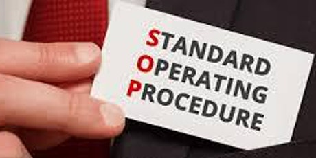 3-HOUR VIRTUAL SEMINAR ON BAD STANDARD OPERATING PROCEDURES (SOPS) tickets
