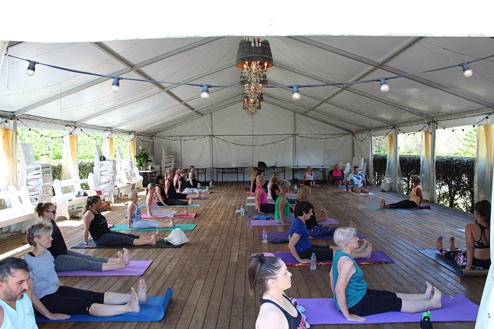 Yoga in the Vines + Sparkling Summer 2021 image