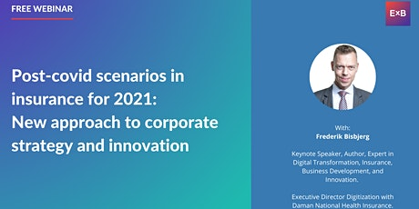 New approach to corporate strategy & innovation in insurance in 2021 tickets