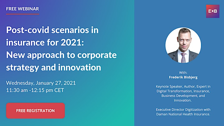 New approach to corporate strategy & innovation in insurance in 2021 image
