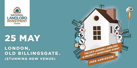 National Landlord Investment Show - Old Billingsgate - London tickets