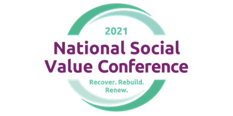 2021 National Social Value Conference Tickets